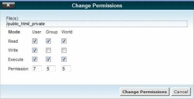 CPanel File Manager 3