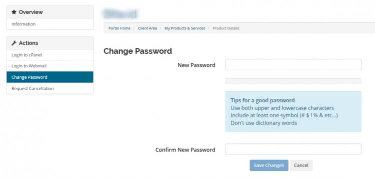 Form Password Service